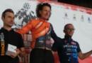 Stefano Lanzi vince all'Assietta con l'aiuto del compagno Fabio Montanari.
