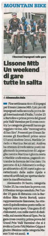 2017.03.18 Il Cittadino (Varie)