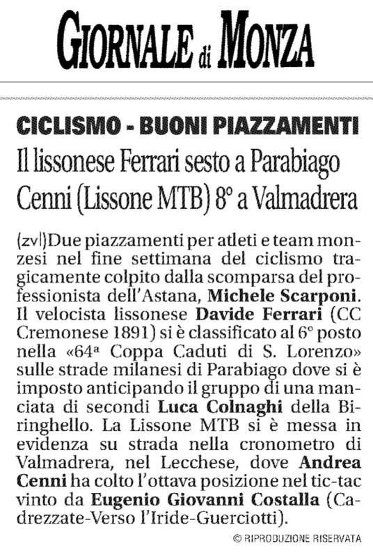 2017.04.15 Giornale di Monza