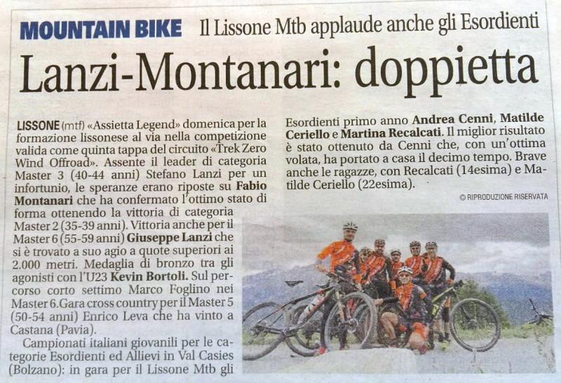 2017.07.04 Giornale Monza (