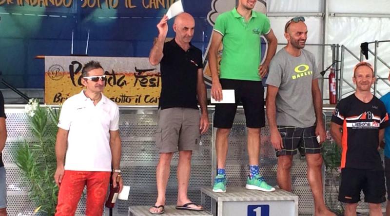 Leva quinto classificato al Giro del Monte Canto.