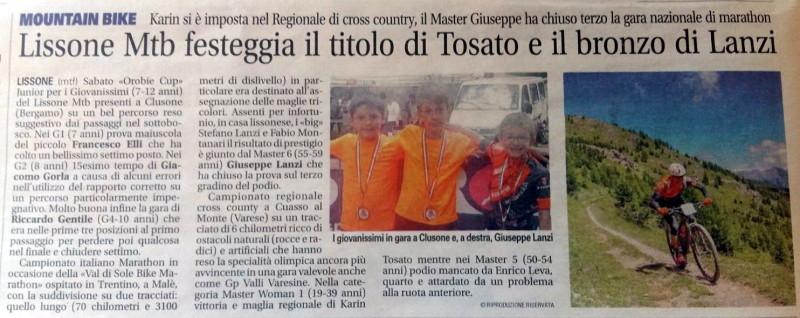 2017.07.18 Giornale di Monza (Italiano MX,Giovanissimi)