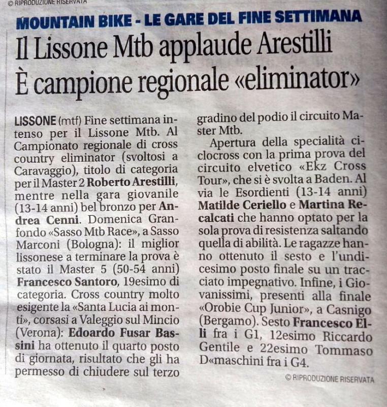 2017.0919 Giornale di Monza (Arestilli campione XCE)