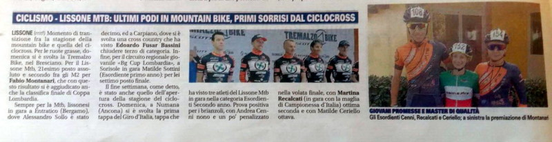 2017.10.03 Giornale di Monza (Coppa Lombardia,CX)