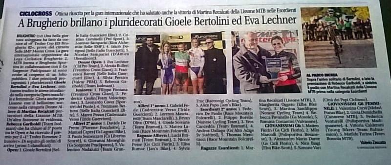 2017.11.26 Giornale di Monza