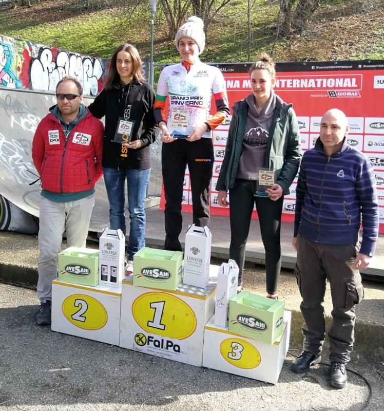 2018.02.24 Verona (podio Elite Master Women)