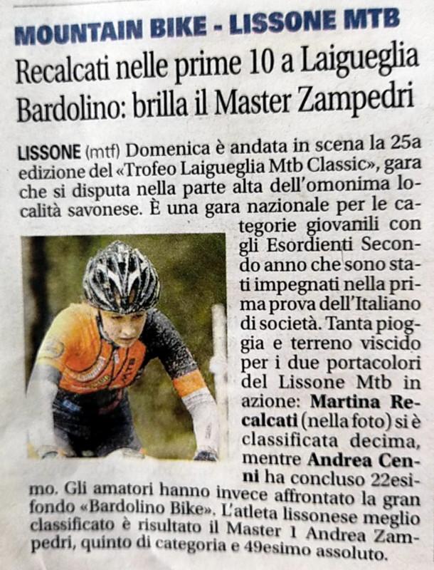 2018.03.20 Giornale di Monza (Recalcati)