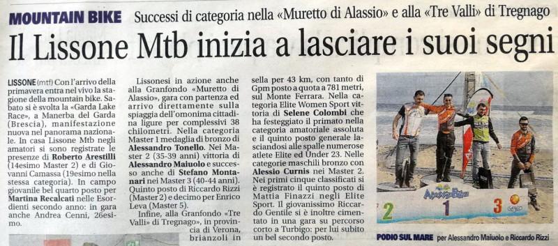 2018.03.27 Giornale Monza (GF Muretto Alassio)
