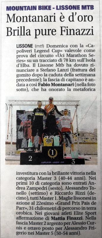 2018.05.15 Giornale di Monza (Capoliveri)