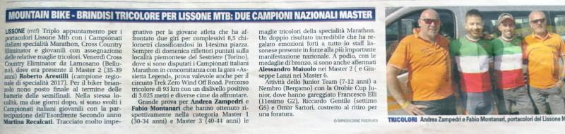 2018.07.03 Giornale Monza (campionati italiani MX)
