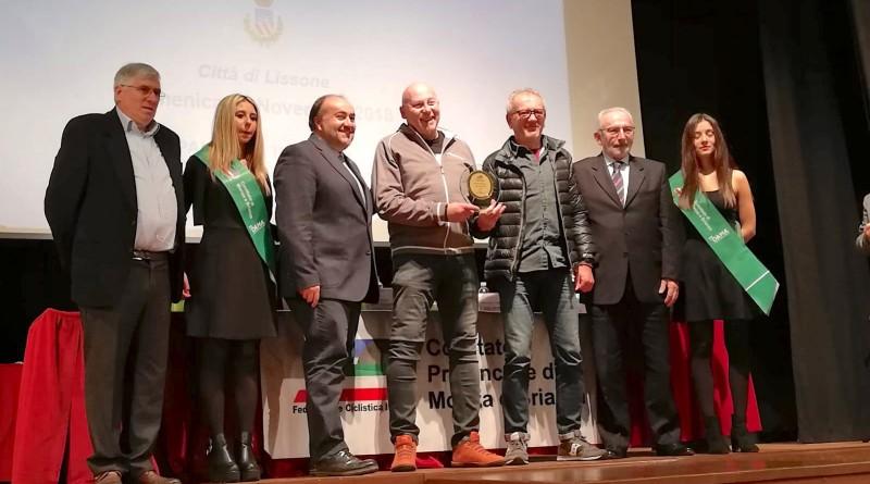 Premiazioni del Comitato Monza Brianza per la società lissonese.