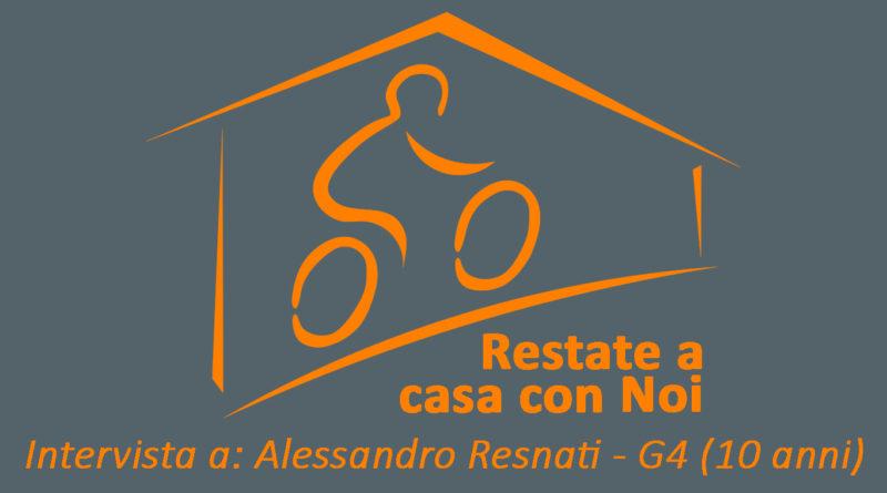 INTERVISTA AD ALESSANDRO RESNATI – G4 (10 anni)