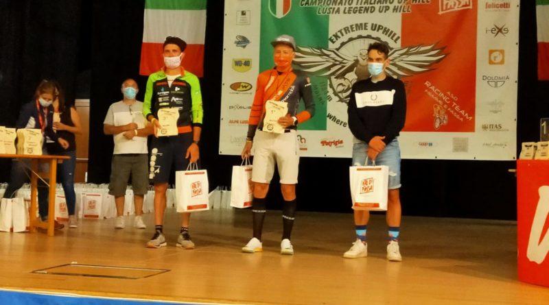 Lanzi sul podio agli italiani Up Hill con Zampedri che vince la combinata; Tonello, a Cogne, trionfa nella sua categoria.